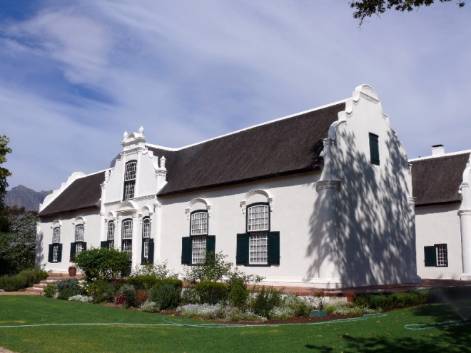 manor house boschendal