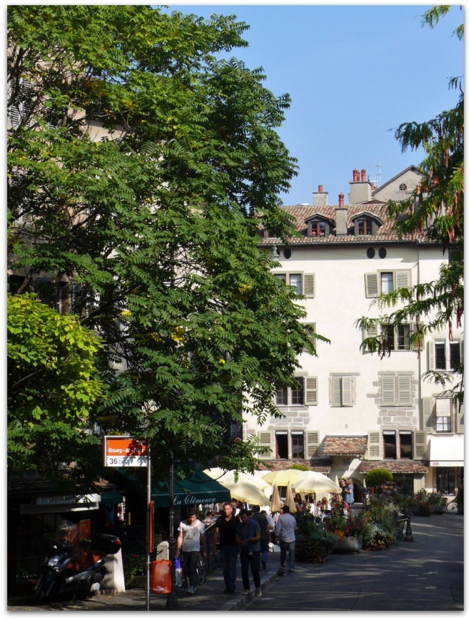 Geneva - Place du Bourg-de-Four