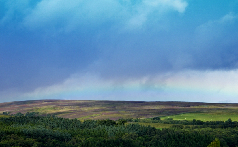 Rainbow over the Moors