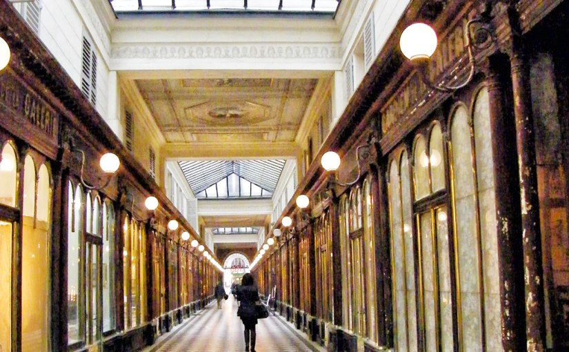 Walking the Right Bank Passages in Paris