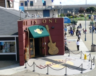 hard rock cafe pier 39