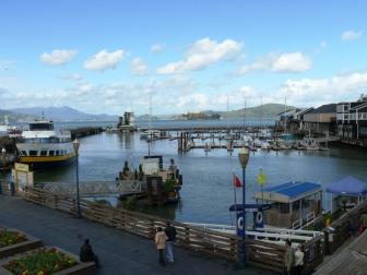 Pier 39 the bay