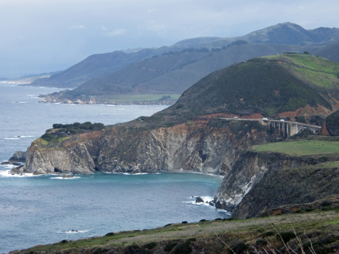 Bixby bridge north