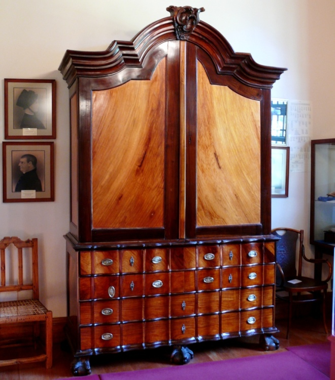 Yellow wood and Stinkwood Armoire