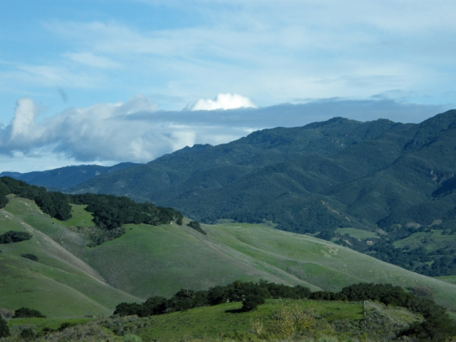 santa ynez mountains