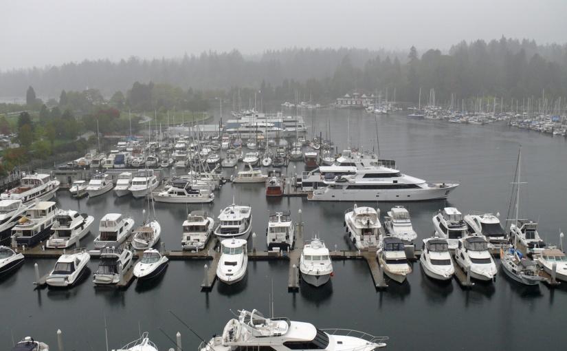 Vancouver: A foggyday