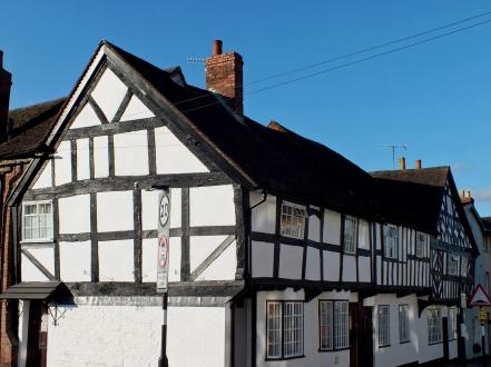 Black and White Merchant House