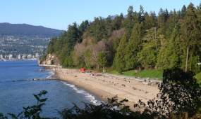 third beach from Ferguson Point