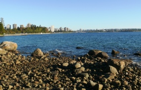 view downtown from second beach