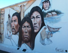 Native Heritage Painted in 1983 by Paul Ygartua