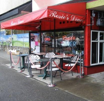 Rosie's Diner, Cook Street Village