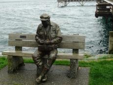 fisherman sculpture