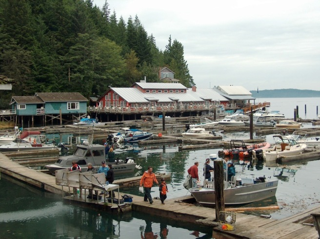 Telegraph Cove boardwalk
