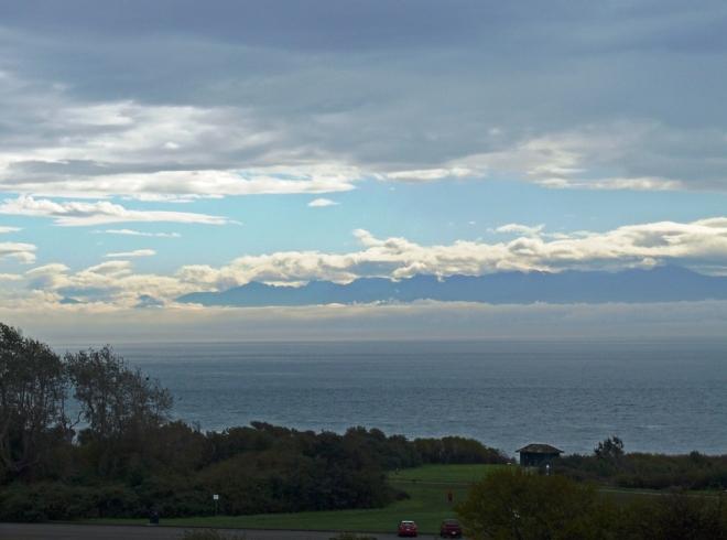 View to Mount Olympus Washington