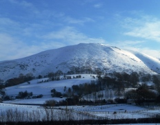 February - South Shropshire Hills