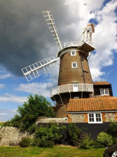 August - Cley Windmill