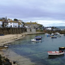 October - Mousehole Harbour