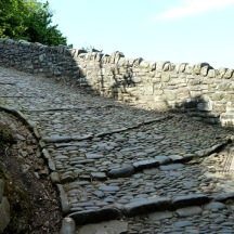 steep cobbles