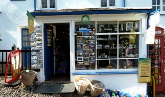 clovelly village store