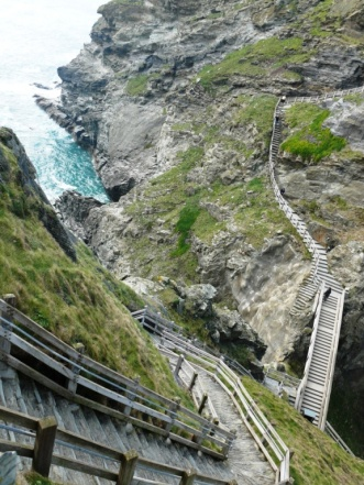 Dizzying steps