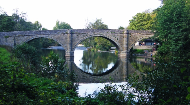 Dinham bridge, Ludlow UK