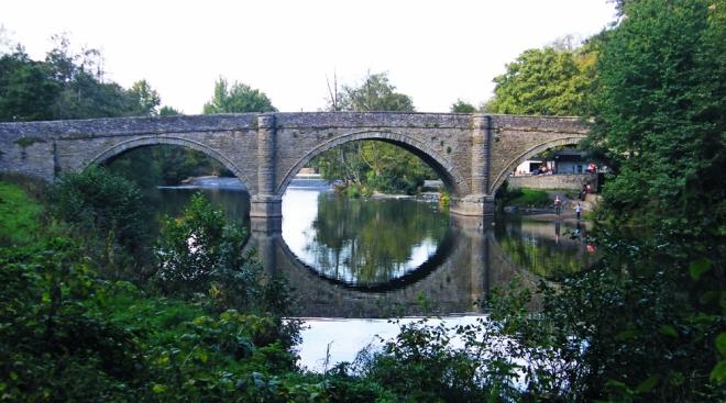 Dinham bridge, Ludlow UK
