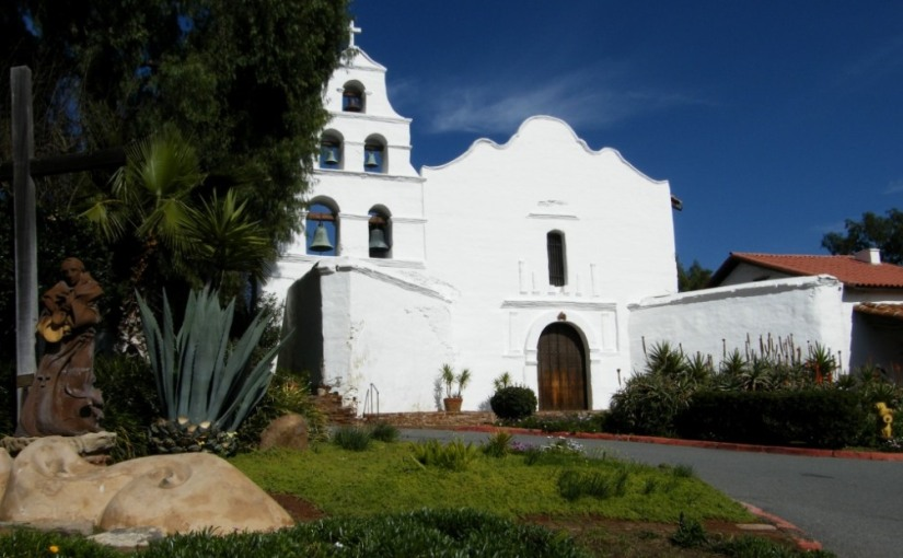 Californian Mission: San Diego de Alcala(1)