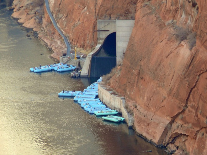 Catching a Raft down the Colorado