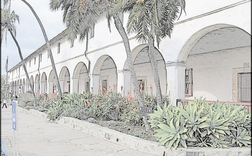 Californian Mission: Santa Barbara(10)