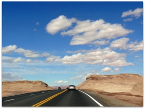 Through the Painted Desert