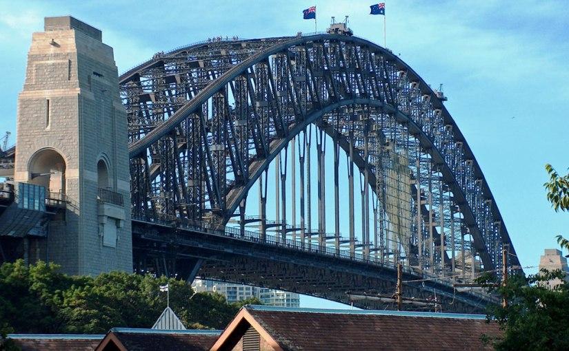 H for Harbour Bridge(Sydney)