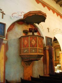 Original Wooden Pulpit