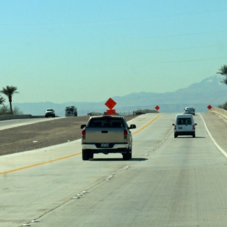 Nevada - almost at Las Vegas