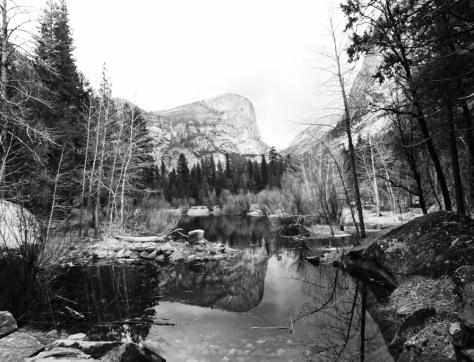 Mount Watkins Reflection at Mirror Lake