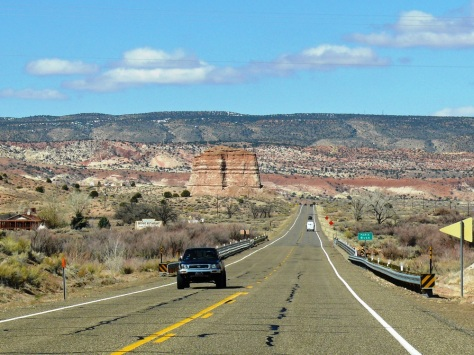 Driving to Kanab