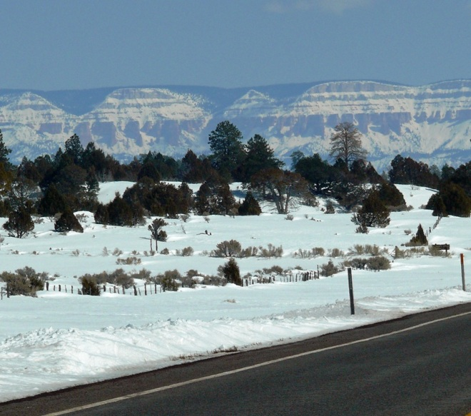 Heading to Bryce Canyon