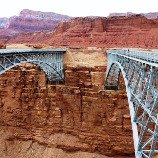 Navajo Bridges (old and new)