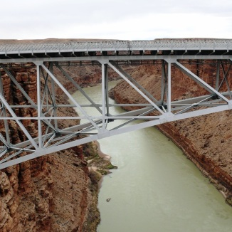 Navajo Bridge across the Colorado