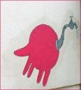 Pink Street Art, Lisbon