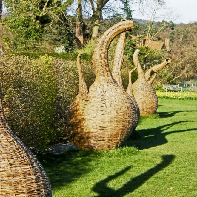 Wicker Sculptures