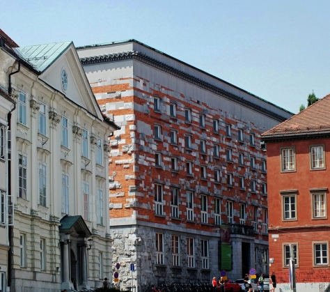 N - national library in Ljubljana