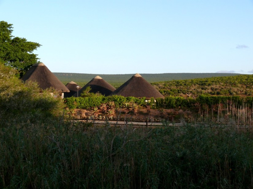 Z is for Zulu Huts