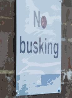 No Busking
