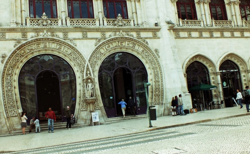 R for Rossio Railway Station – TRAVEL WORDS