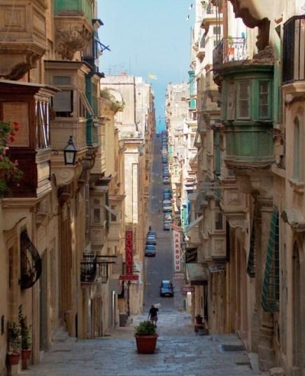 St Ursula street Valletta