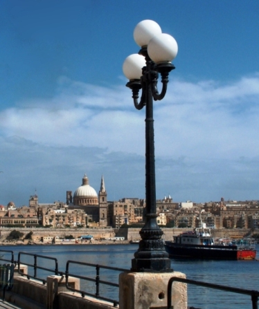 Valetta from the parade in Sliema