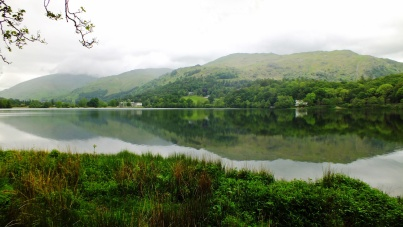 Reflections in Grasmere Lake