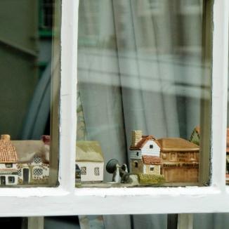 Houses that have windows that have houses that have windows...