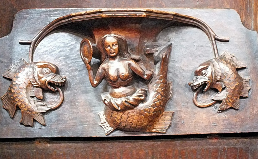 X for XV century Misericords
