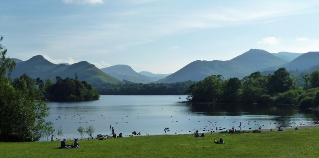First View of Derwentwater